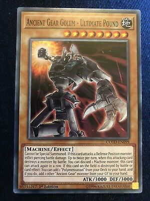 Ancient Gear Golem - Ultimate Pound Yugioh Card Genuine Yu-Gi-Oh Trading  Card | eBay
