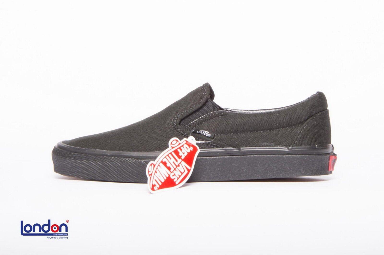 VANS Schuhe unisex klassisch slip-on black black Schuhe Turnschuhe