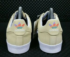 Adidas-Superstar-Vulc-ADV-Men-Size-5-5-Skate-Shell-Shoes-Women-7-Cream-Yellow