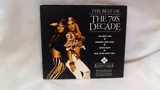 The Best of the 70's Decade [Digipak] [Remaster] by Various Artists (CD, Apr-2007, St. Clair)