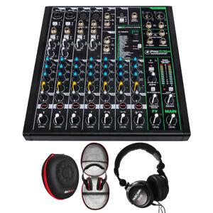 Mackie PROFX10V3 10 Channel Professional Mixer & Deco Gear Accessory Bundle