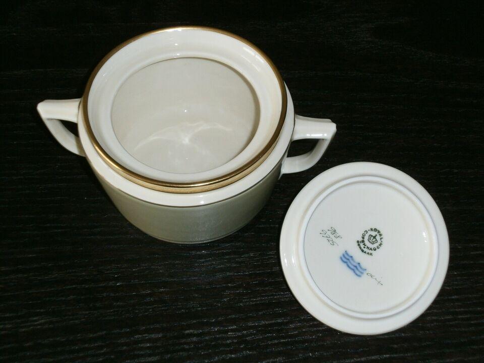 Porcelæn, Dagmar sukker og fløde sæt, Royal Copenhagen