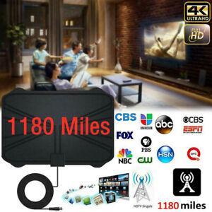 Digital-TV-Antenna-1180-Miles-Range-Signal-Booster-Amplifier-HDTV-Indoor-4K-Hot