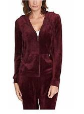 *NEW!* Gloria Vanderbilt Women/'s Ellie Velour Hoodie Jacket VARIETY Size /& Color