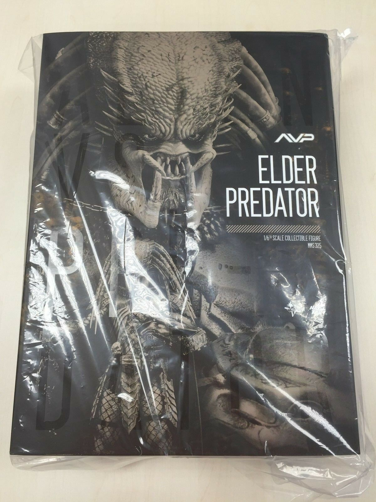 Hot Toys MMS 325 Alien VS. Predator Predator Predator AVP Elder Predators 14 inch 1 6 Figure NEW 548eae