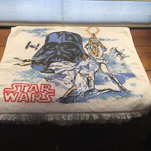 Vintage Bibb Company 1977 Star Wars 4 Piece Towel Set Bath