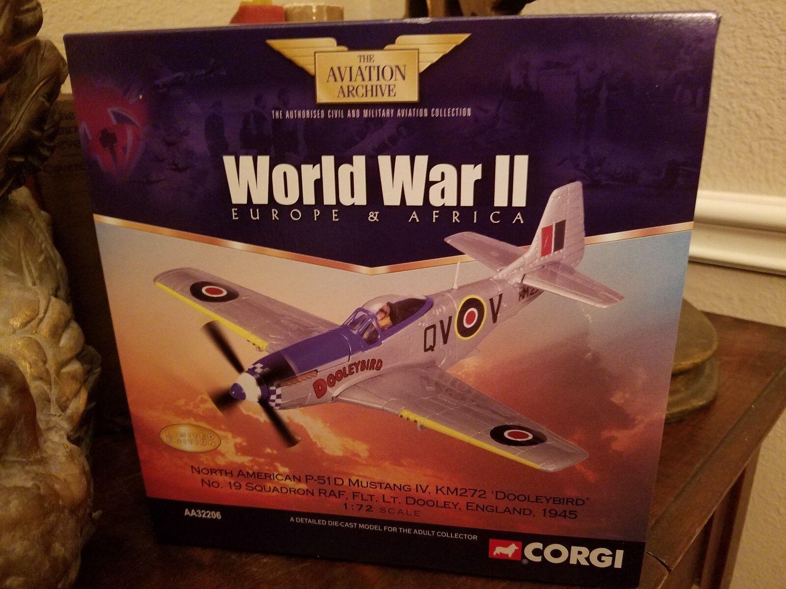 CORGI P-51D Mustang IV, KM272  Dooleybird  No. 19 Sq. Royal Air Force-AA32206