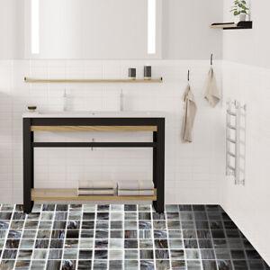 Dettagli su 10x Muro A PROVA D\'ACQUA Adesivi per Piastrelle Cucina Bagno  Decorazione 20 x 20cm- mostra il titolo originale