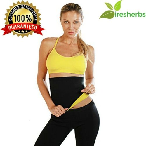 Sauna Slimming Belt Burn Cellulite Fat Body Wraps Waist Shaper Weight Loss XL