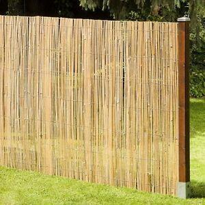 Sichtschutz macao bambusmatte bambus garten zaun windschutz garten 180x500 cm ebay - Sichtschutz garten bambus ...