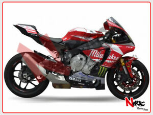 Details About Set Fairing Abs Complete Painted Yamaha R1 2015 2019 Replica Milwaukee