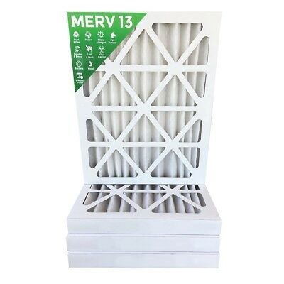 20x25x2 MERV 13 Pleated AC Furnace Air Filters $14.49 each 4 Pack