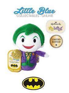 LIMITED EDITION DC Comics Hallmark Itty Bittys Bitty The Joker - Create an invoice on paypal hallmark store online