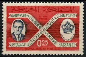 Morocco-1966-SG-178-King-Hassans-Coronation-MNH-D49380