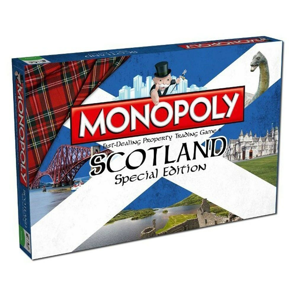 Monopoly Scotland Special Edition Board Game English Game Board Game Englisch
