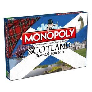 Monopoly Scotland Special Edition Board Game English Spiel Brettspiel Englisch