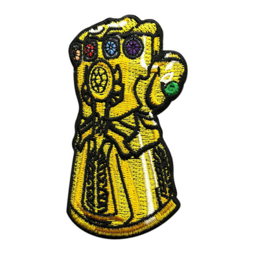Infinity Gauntlet Avengers Embroidered iron on patch