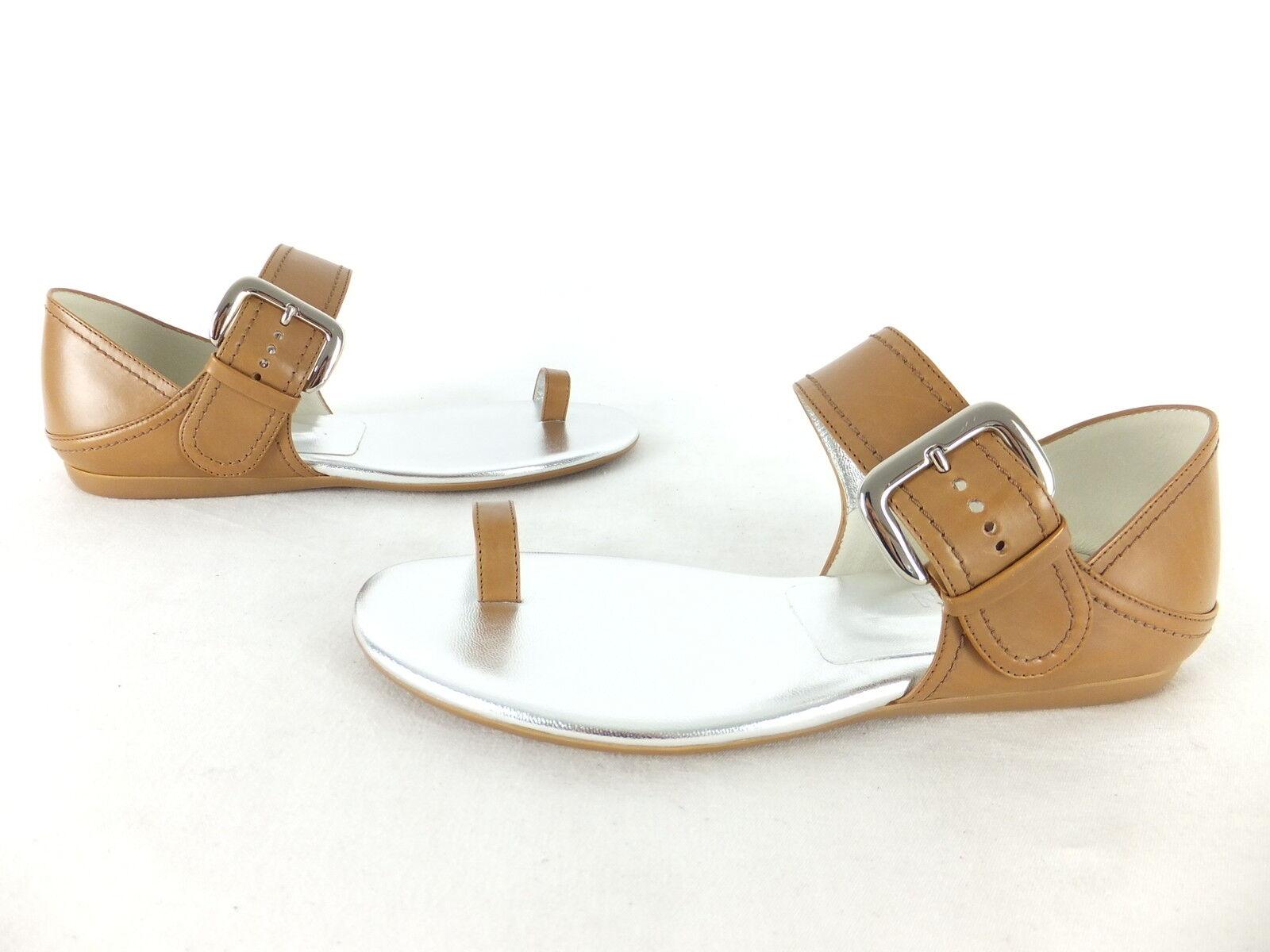 HOGBN Sandale - 36,5 - braun - neu mit Karton - mit Schnalle - Zehen Sandalette