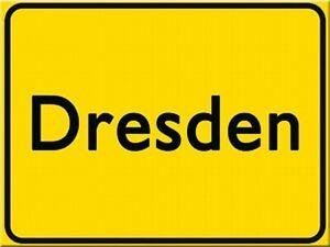 Magnet-dresdensouvenir-Germany-ortsschild-refrigerador-8-CM-nuevo