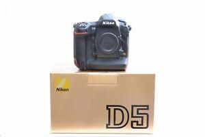 NEU-Nikon-D5-FX-Format-DSLR-Body-Dual-XQD-Card-Slots-Version-3-Jahr-Garantie