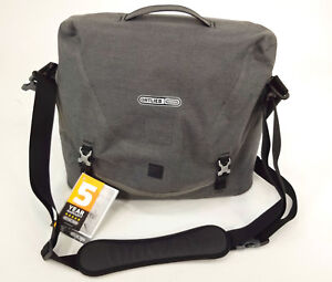 cdb9aeb237 Image is loading ORTLIEB-COURIER-CITY-MESSENGER-SHOULDER-BAG-GRAY-LARGE-