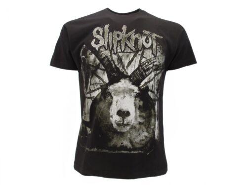 T-Shirt Originale Slipknot Ufficiale Maglia Maglietta Doppia stampa fronte retro
