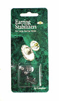 Comfees Hypoallergenic Earring Stabilizers 3-pair Earring Backs For Large Styles