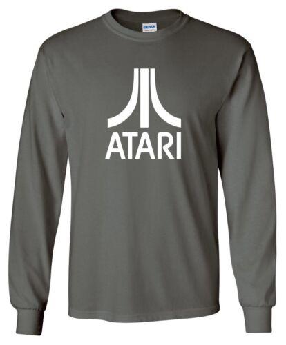 Classic Retro Gaming Atari LONG SLEEVE T-shirt