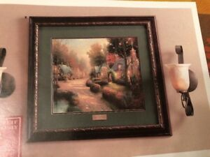 Image Is Loading Home Interiors Amp Gifts Thomas Kinkade Cobblestone Lane