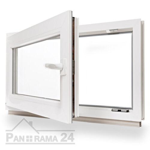 Keller Fenêtre Plastique Fenêtre Tourne Kipp 70 x 40 cm vitrage isolant la Marchandise en stock ✔