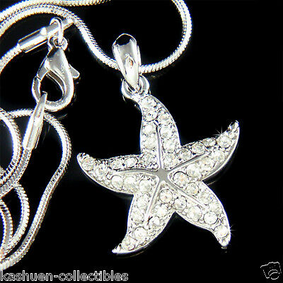 5c7c78b365873 STARFISH made with Swarovski Crystal Sea star fish Marine Beach ...