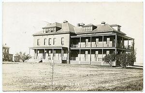 RPPC-NY-Madison-Barracks-Sackets-Harbor-U-S-Army-Brick-Hospital