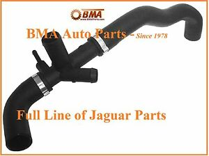 NEW-URO-JAGUAR-S-TYPE-AND-LINCOLN-LS-UPPER-RADIATOR-HOSE-2000-2002-3-0L-XR827648
