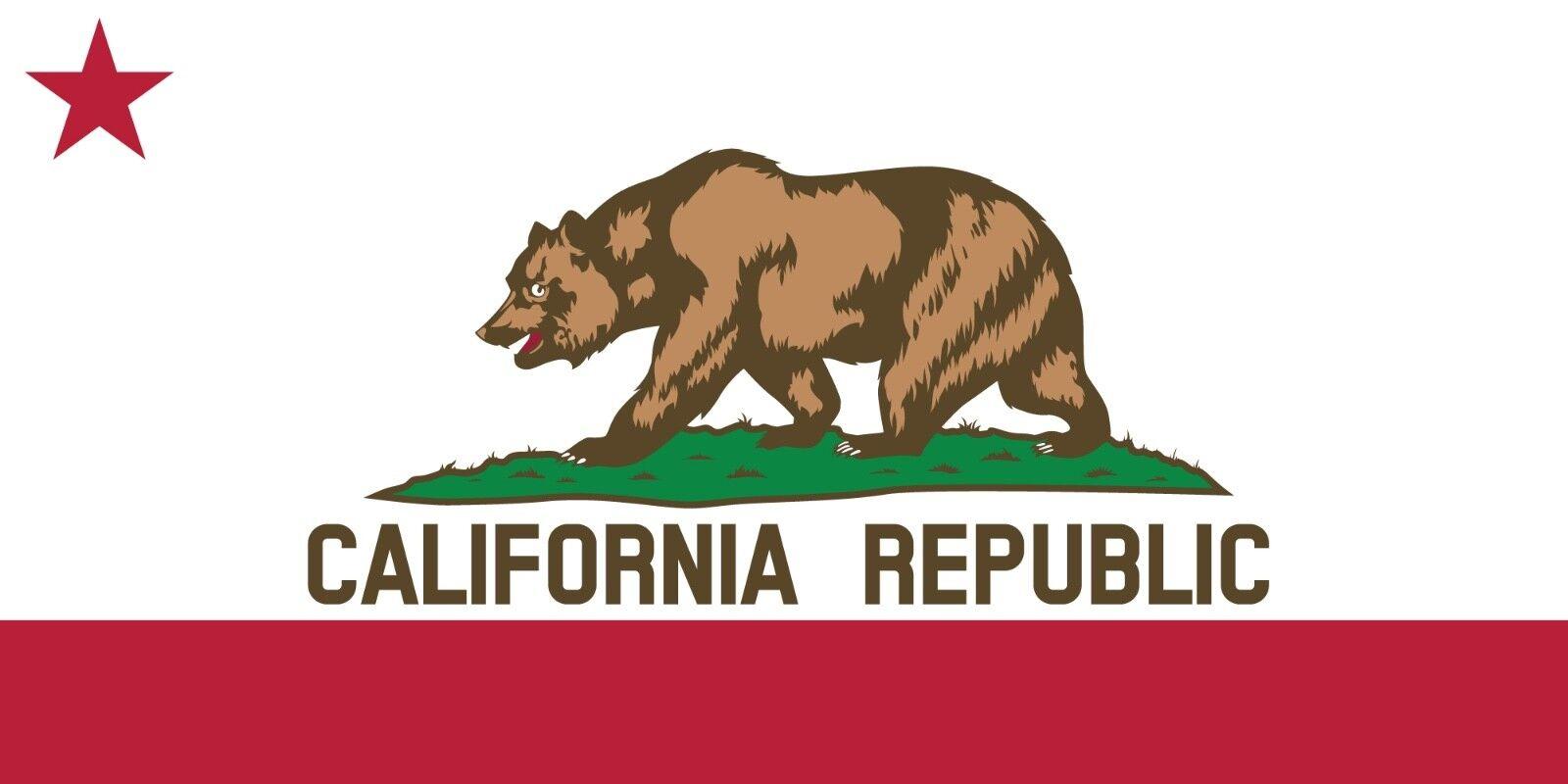 30x60 Large California Bear Flag LA Cruise Vacation Pool Gift Bath Beach Towel
