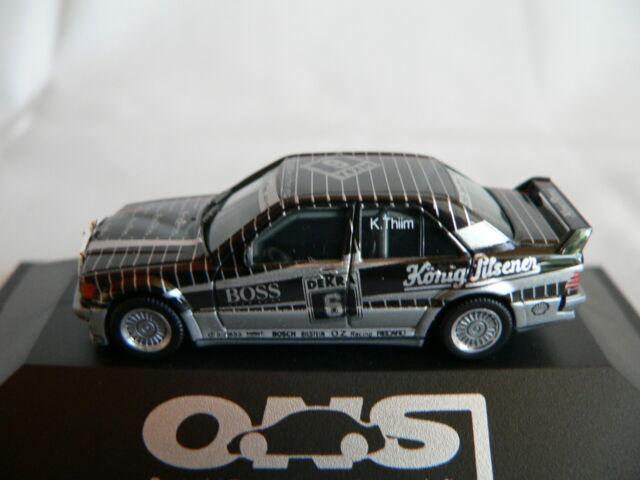 HERPA MERCEDES BENZ 190E DTM 1990 #6 KURT THIIM AMG KÖNIG PILSENER BOSS, NEU+OVP