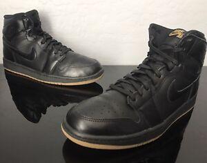 best sneakers c26ca 76036 Details about Nike Air Jordan Retro 1 High OG BLACK GUM 12 Men's Size 12  (555088-020)