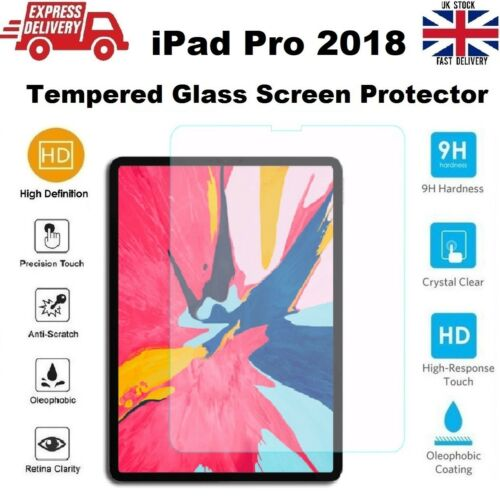 Ultra Slim Tempered Glass Screen Protector for iPad PRO 11 in A1980//A1934//A2013