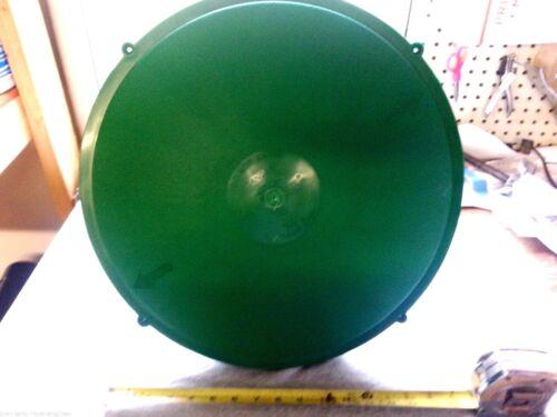 "16/"" TUF-TITE PLASTIC DOMED LID CAP SEPTIC TANK"