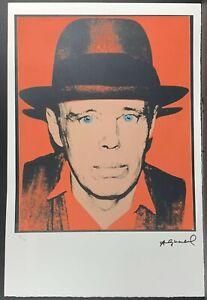 Andy Warhol Joseph Beuys Poster Kunstdruck Bild 80x60cm