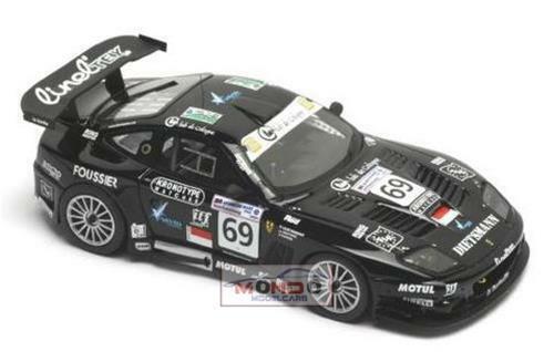 Ferrari 575 Gtc Car N 69 Lmgt1 Le Mans 2005 KIT BBR 1:43 PJ378 Modellbau