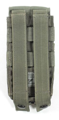 Eagle Industries RLCS 1x2 Double SCAR-H 7.62 Mag Pouch Ranger Green Bottom Snap
