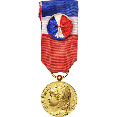 #417343 Médaille D'honneur Du Travail Business & Industry Medal Making Things Convenient For The People France