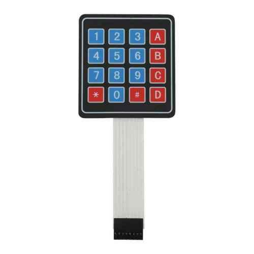 4x4 Matrix Extension Keyboard 16 Key Membrane Switch Keypad Keyboard