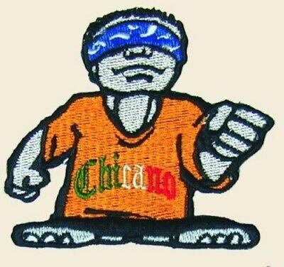Firme Patch Chicano Art La Raza Aztlan Lowrider OG Homies