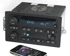 Chevy GMC 2005-2009 Truck AM FM CD Radio w Aux Input & Bluetooth Music 15234915