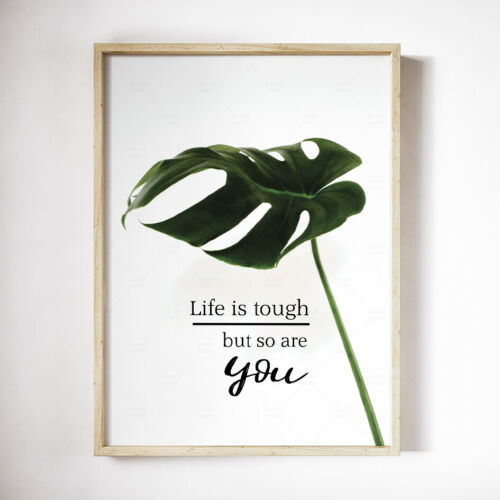 Inspirational Posters Funny Quotes Modern Wall Art A3//A4 Motivational Prints