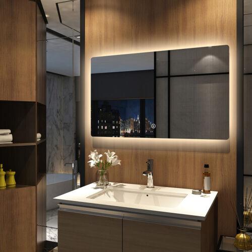 Badspiegel mit LED Beleuchtung Touch Spiegel Spiegel 100x60 cm Warmweiß Kaltweiß
