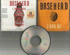 BASEHEAD 2000 BC w/ RARE MELLOW MIX & EDIT 1992 PROMO Radio DJ CD single USA