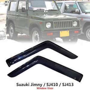 Weathershield-Car-Window-Door-Visor-Wind-Deflector-For-Suzuki-Jimny-Sierra-SJ413