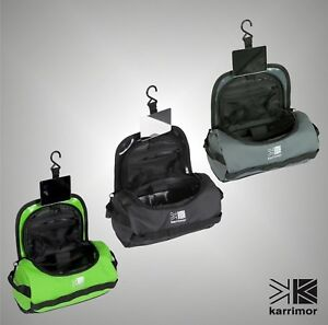 4a749ac5cf Image is loading Unisex-Branded-Karrimor-Toiletries-Wash-Bag -Travel-Accessories-